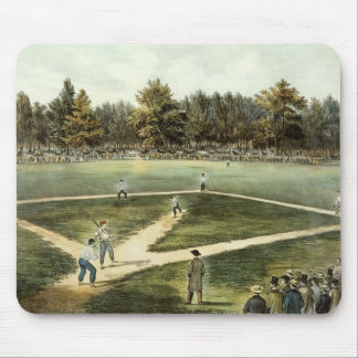 The American National Game of Baseball Mouse Mat
