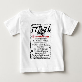 The American Patriot Baby T-Shirt