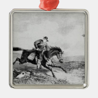 The American Pony Express Christmas Ornament