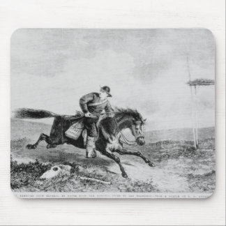 The American Pony Express Mouse Mat