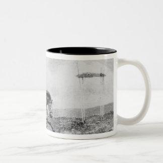 The American Pony Express Two-Tone Coffee Mug