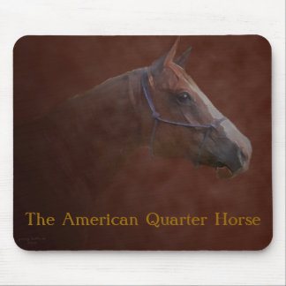 The American Quarter Horse Mouse Pad