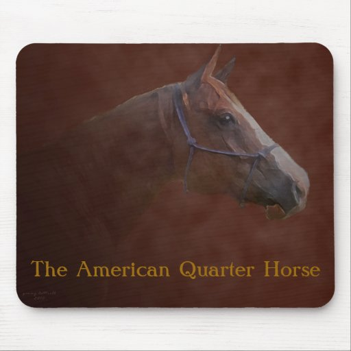 The American Quarter Horse Mouse Pads