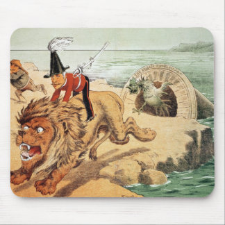 The American view of the Channel Tunnel Scare, Mouse Mat
