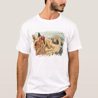 The American view of the Channel Tunnel Scare, T-Shirt