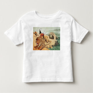 The American view of the Channel Tunnel Scare, Toddler T-Shirt