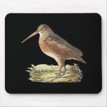 The American Woodcock(Rusticola minor) Mousemats