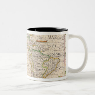 The Americas 2 Two-Tone Coffee Mug