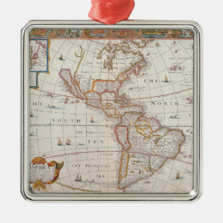 The Americas 3 Christmas Ornament