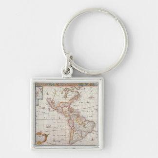 The Americas 3 Key Ring
