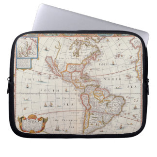 The Americas 3 Laptop Sleeve
