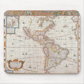 The Americas 3 Mouse Pad