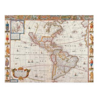 The Americas 3 Postcard