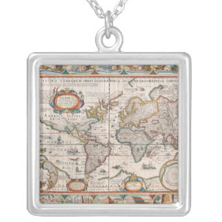 The Americas 4 Silver Plated Necklace