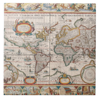 The Americas 4 Tile