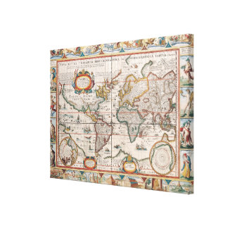 The Americas Canvas Print