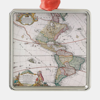 The Americas Christmas Ornament
