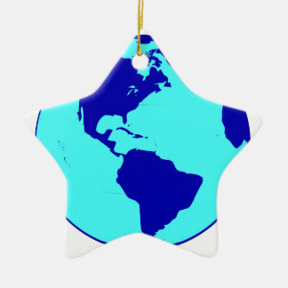 The Americas Globe Christmas Ornament