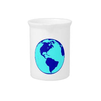 The Americas Globe Pitcher