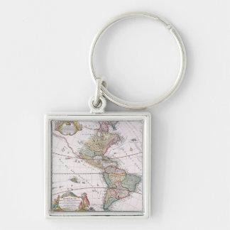 The Americas Key Ring
