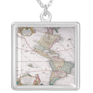 The Americas Silver Plated Necklace