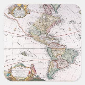 The Americas Square Sticker