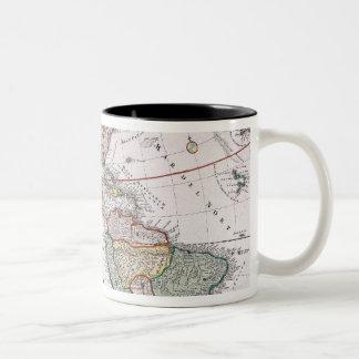 The Americas Two-Tone Coffee Mug