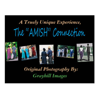 "The""AMISH""Connection Postcard"