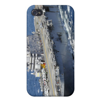 The amphibious assault ship USS Peleliu Cover For iPhone 4
