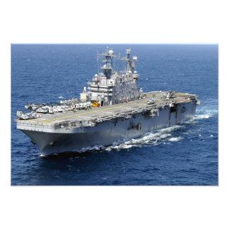 The amphibious assault ship USS Peleliu Photographic Print