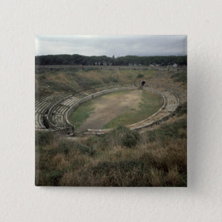 The Amphitheatre 15 Cm Square Badge