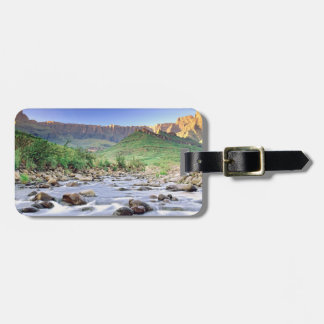 The Amphitheatre And Tugela River In Drakensberg Bag Tag