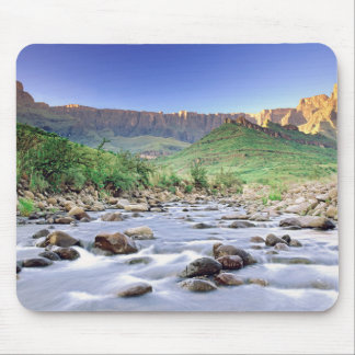 The Amphitheatre And Tugela River In Drakensberg Mouse Pad