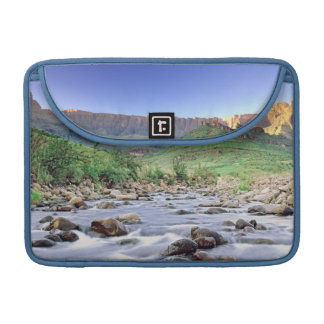 The Amphitheatre And Tugela River In Drakensberg Sleeve For MacBooks