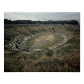 The Amphitheatre Poster