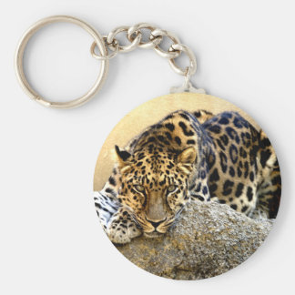 The Amur Leopard Key Ring