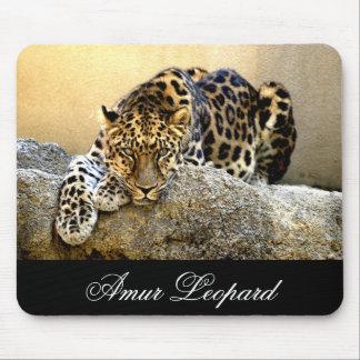 The Amur Leopard Mouse Pad