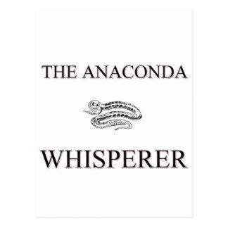 The Anaconda Whisperer Post Card