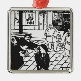 The Anarchist, 1892 Christmas Ornament