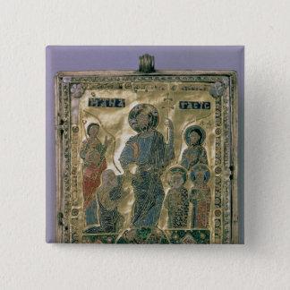 The Anastasis 15 Cm Square Badge