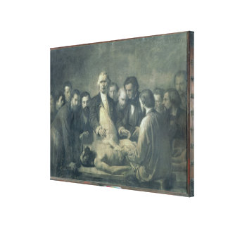 The Anatomy Lesson of Doctor Velpeau Canvas Print