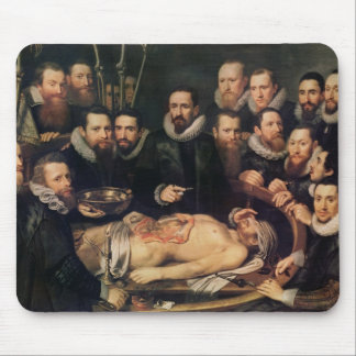 The Anatomy Lesson of Doctor Willem van der Mouse Pad