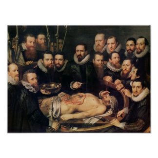 The Anatomy Lesson of Doctor Willem van der Poster