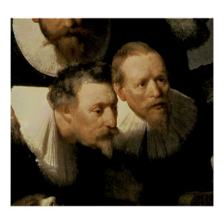 The Anatomy Lesson of Dr. Nicolaes Tulp, 1632 Poster