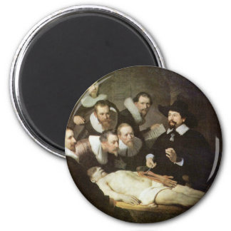 The Anatomy Lesson Of Dr. Nicolaes Tulp. Magnet