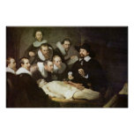 The Anatomy Lesson Of Dr. Nicolaes Tulp. Poster