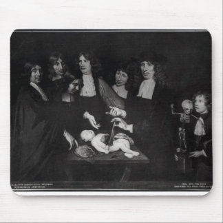 The Anatomy Lesson of Professor Frederik Mouse Pad