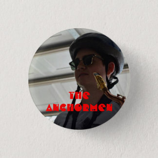 The Anchormen: Derek 3 Cm Round Badge