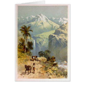 The Andes Mountins Note Card