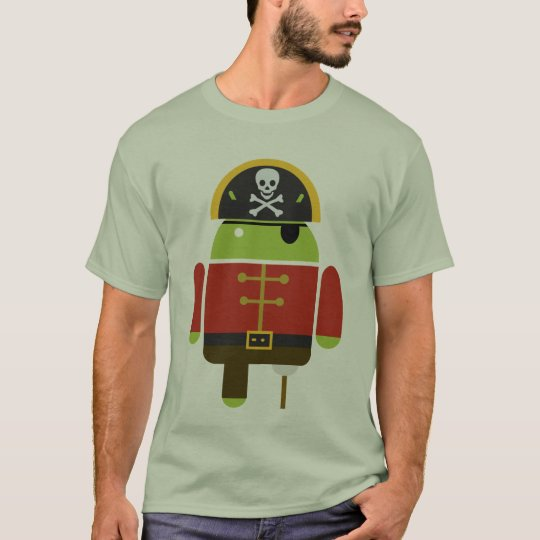 The Android Pirate T-Shirt
